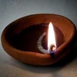 Oil Lamp - Photo by Sreekumar K. S.
